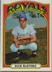 1972 Topps Baseball Cards      332     Buck Martinez
